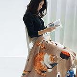 Max Home Weiche Decken Individuelle Schaldecke Büro Nickerchen Decke Haustierdecke Anwendbar für Stuhl Schlafsofa (größe : 100*120cm)