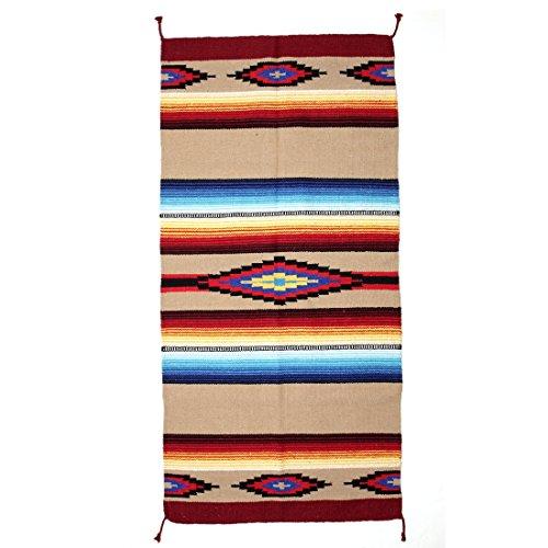 Indianer- & Western-Teppich / Läufer - Taos Pueblo, Style IV (Route 66-teppich)