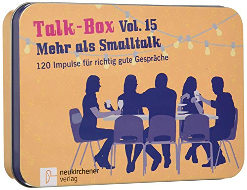 Talk-Box Vol. 15 - Mehr als Smalltalk, 120 Impulse für richtig gute Gespräche