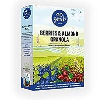 Go Grub Berries & Almond Granola (300 Grams)