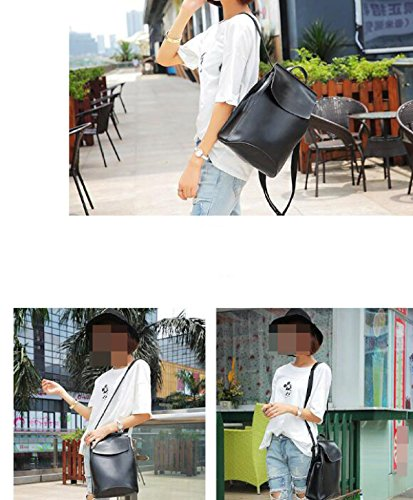 Damen Einfache Koreanische Version Der Schultertasche College Schule Tasche Beige