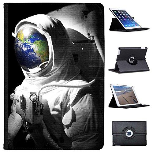"""Astronautenanzug & Spiegelbild der Erde Case Cover / Folio aus Kunstleder für das Apple iPad Pro 10.5"""" (2017)"""