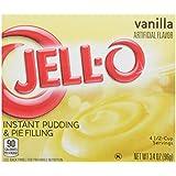 Jell-O Instant Vanilla Pudding 96g