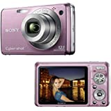 Sony - Cyber-shot DSC-W210 P - Digital camera - compact - 12.1 Mpix - optical zoom: 4 x - supported memory: MS Duo, MS PRO Duo - pink