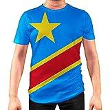 Photo de Idakoos Congo Kinshasa - T-Shirt 3D Homme Polyester Nouveauté 2XL par Idakoos