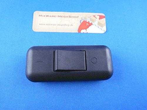 Schnur-Zwischenschalter Mit Schraubkontakten Schwarz, 2-polig, 2 A, 250 V~, Past für LED, SMD - 2