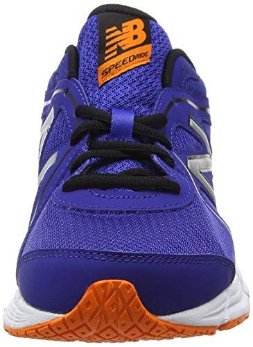 New Balance 390, Chaussures de Running Entrainement Homme Bleu (Blue/Orange 405)