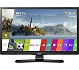 "LG 28MT49S 28"" HD Smart TV Wi-Fi Black LED TV - LED TVs (71.1 cm (28""), 1366 x 768 pixels, IPS, Smart TV, Wi-Fi, Black)"
