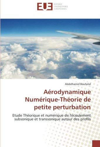 Aerodynamique Numerique-Theorie de petite perturbation: Etude Theorique et numerique de l'ecoulement subsonique et transsonique autour des profils