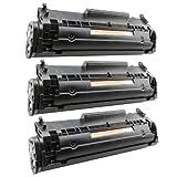 3x Toner-Patrone XL Schwarz für Canon FX-10 I-Sensys MF4650 MF4340D MF4350D MF4370DN MF4380DN PlatinumSerie