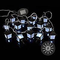 24 LED Solar-guirnalda de 24 m estábamosbajo carpa iluminación