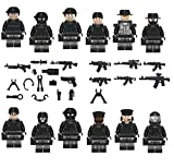 12 City SWAT Figuren für eure City Lego Stadt