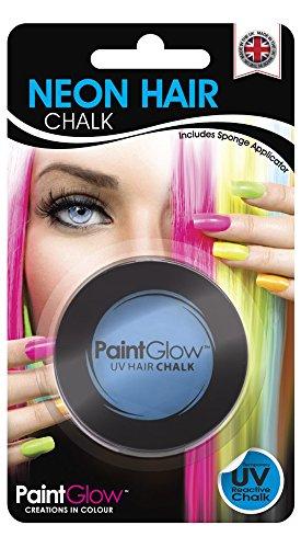 UV Neon Haarkreide Blau (Neon Perücken)