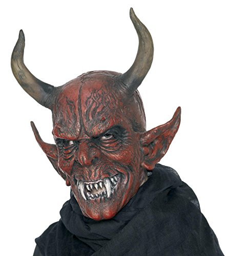 Close Up Maske Teufelsdämon - Teufel Dämon - aus Latex