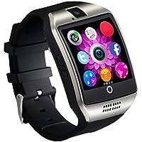 Reloj Inteligente [Nueva Versión], CHEREEKI Smartwatch Android [1.54'' Pantalla Curva] Bluetooth Smart Watch con Cámara/ Podómetro/ Monitor de Sueño/ Notificación de WhatsApp compatible con Android