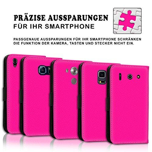 Wallet Book Style Flip Handy Tasche Case Schutz Hülle Schale Motiv Etui für Apple iPhone 6 / 6S - Variante UMV8 Design12 Design 7