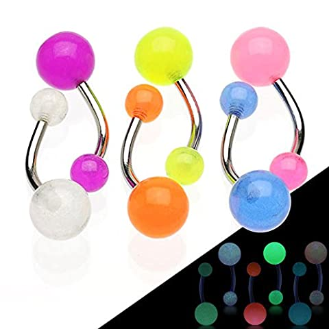 Dynamique Adults Glow In The Dark Balls 316L Stainless
