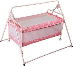 Natraj Sleepwell Crib (Pink)