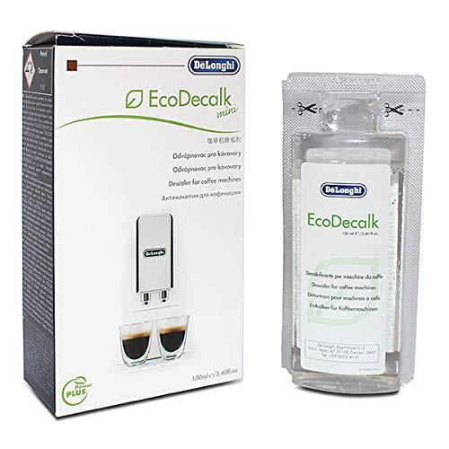 De'Longhi, 5513295981,decalcificante ecologico per macchina per caffè EcoDecalk Mini, 100ml