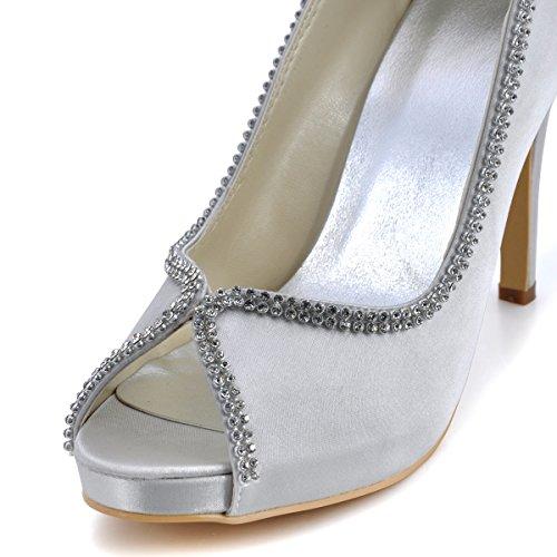 Elegantpark ,  Scarpe col tacco donna Argento