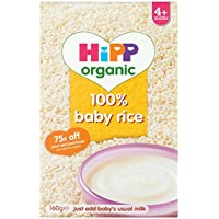 HiPP Organic Stage 1 From 4 Months Baby Rice 160 g (Pack of 4) preiswert