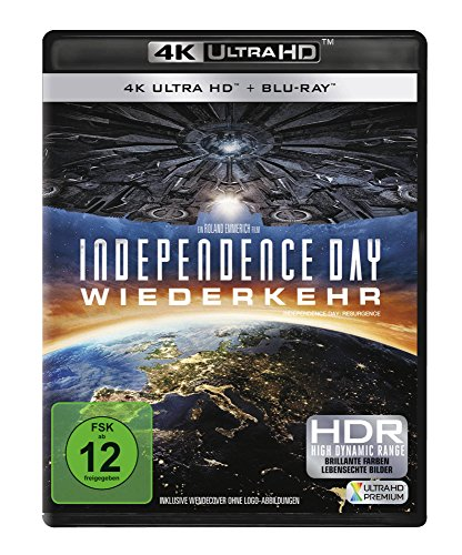 Independence Day 2: Wiederkehr - Ultra HD Blu-ray [4k + Blu-ray Disc]