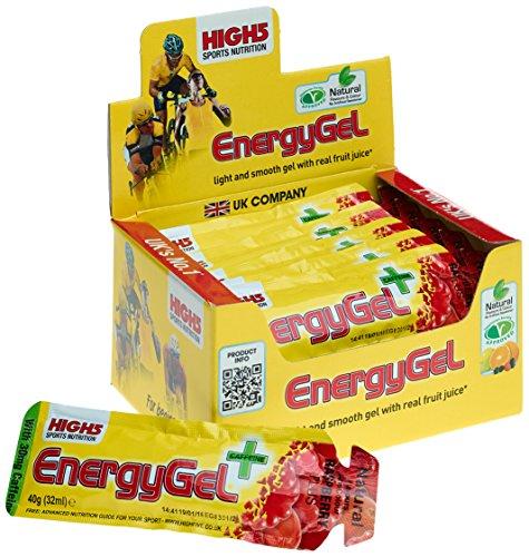High5 Energy Gel 20 geles x 40 gr - Sabor - Raspberry Plus-Cafeína