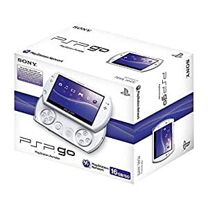 PlayStation Portable - PSP Go! Konsole, Pearl White