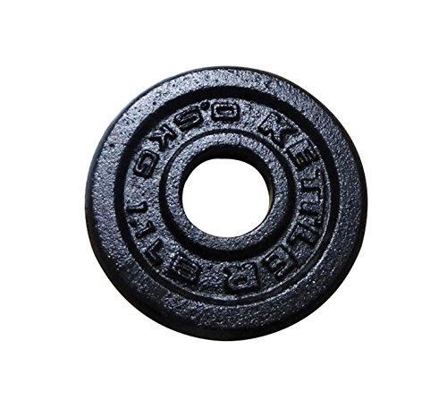 Kettler Disque en fonte Noir 0,5 kg
