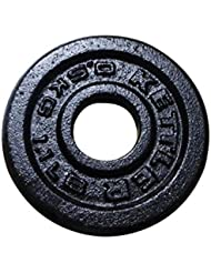 Kettler Cast-Iron - Pesos, Color Negro, Talla 0.5 kg
