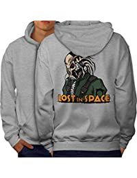 Wellcoda Lost in Space Men S-5XL Hoodie Back