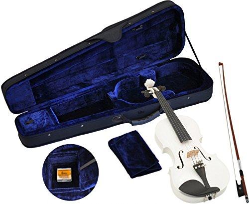 Steinbach 1/4 Geige im SET, weiß, handgearbeitet