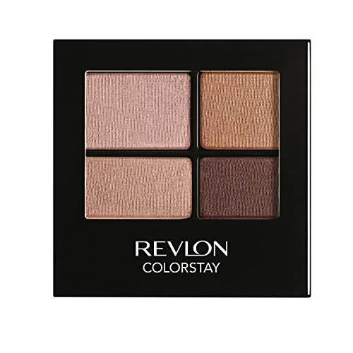 REVLON Colorstay 16 Hour Eye Shadow Quad, Decadent, 5ml, 505 Decadent
