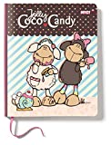 Nici 38271 - Freundebuch Jollycoco und Candy, 15 x 18 cm