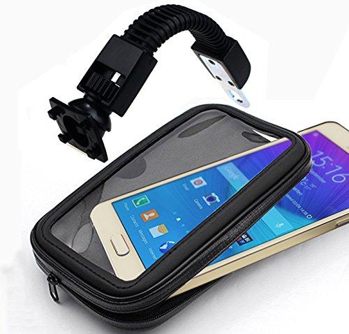 "Ibroz Full-Body Outdoor Lenker Smartphone Halterung bis 5.8"" Motorrad Quad Roller (IB-IMO0094-FLX)"