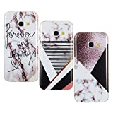 Misstars 3X Coque en Silicone pour Samsung Galaxy A5 2017 A520 Marbre, Ultra Mince...