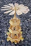Holz-Weihnachtspyramide 3-stöckig