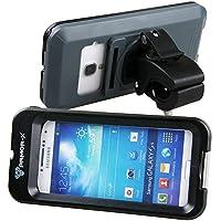 Armor-X MX-U243-BK Enceinte étanche et ultra-résistante avec support pour vélo/chariot de golf pour iPhone 5 et Samsung Galaxy S3/S4 Connexion pour écouteurs