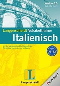 Langenscheidt Vokabeltrainer 6.0 Italienisch [Download]