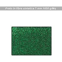 Prato erboso sintetico per tarrazzo o bordo piscina cm 100x 2500 verde