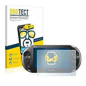 BROTECT Schutzfolie kompatibel mit Sony Playstation PS Vita Slim (2 Stück) klare Displayschutz-Folie