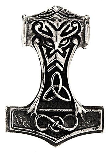 Thorshammer Anhänger aus 925 Sterling Silber Nr. 244 (Kiss-brunnen)