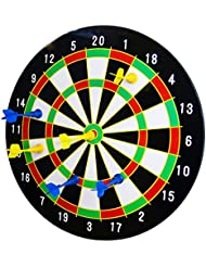 "16"" Magnetic Dart Board Dartboard with 6 Darts Party Game Set Doink It"