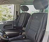 seatcovers by k-maniac Sitzbezüge Elite Fahrersitz Beifahrersitz Armlehnen