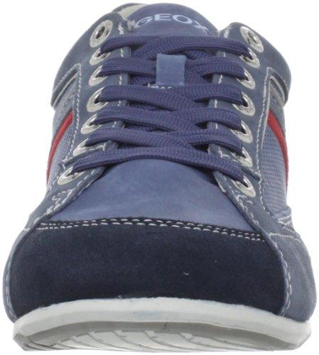 Geox U Andrea P, Baskets Basses Homme Bleu (C4011)