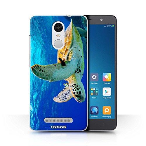 Stuff4 Hülle / Case für Xiaomi Redmi Note 3 / Schildkröte Muster / Wilde Tiere Kollektion