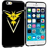 Okaymobile Silicon Case Tasche TPU Silikon Schutz Hülle Bumper Case Tasche For Iphone 5S / 5C Pokemon Go Team Gelb Intuition I Zapdos