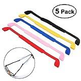 NUOLUX 5 couleurs lunettes lunettes de soleil lunettes anti-dérapant Silicone élastique serre-tête sangle