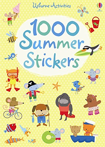 1000 Summer Stickers (1000 Stickers) por Fiona Watt