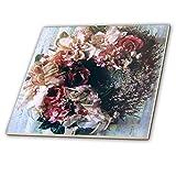 3dRose CT 21580_ 1Advokat Viktorianischer Wreath-Ceramic Fliesen, 4-Zoll